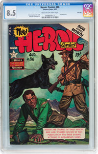 Heroic Comics #86 File Copy (Eastern Color, 1953) CGC VF+ 8.5 Cream to off-white pages