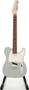 Musical Instruments:Electric Guitars, 2008 Fender HWY 1 Telecaster Sonic Blue Solid Body Electric Guitar, Serial # Z8103022....