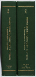 Books:Reference & Bibliography, Robert Lee Wolfe. Nineteenth-Century Fiction. Volume I-V,Bound in Two Volumes. Garland, 1981. Facsimile edition... (Total: 2Items)