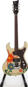 Musical Instruments:Electric Guitars, 1965 Mosrite Ventures Refinished Solid Body Electric Guitar, Serial#1 116....