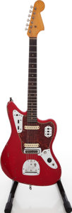 Musical Instruments:Electric Guitars, 1962 Fender Jaguar Refinished Solid Body Electric Guitar, Serial # L60190....