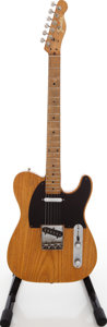 Musical Instruments:Electric Guitars, 1956 Fender Telecaster Refinished Solid Body Electric Guitar,Serial # 09245....