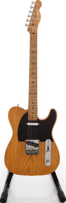 1956 Fender Telecaster Refinished Solid Body Electric Guitar, Serial # 09245