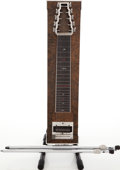 Musical Instruments:Lap Steel Guitars, 1970s Marlen S10 Trans Green Pedal Steel Guitar, Serial #325791....