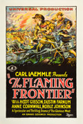 "Movie Posters:Western, The Flaming Frontier (Universal, 1926). One Sheet (27"" X 41"").. ..."