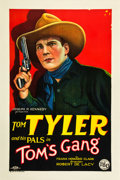 "Movie Posters:Western, Tom's Gang (FBO, 1927). One Sheet (27"" X 41""). Style A.. ..."