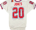 Football Collectibles:Uniforms, 1993 Henry Jones Signed Pro Bowl Jersey....