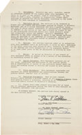 Baseball Collectibles:Others, 1976 Pete Rose Signed Agreement....