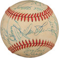 Autographs:Baseballs, 1986 New York Mets Team Signed Baseball (30 Signatures) - WorldSeries Championship Season!...