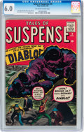 Silver Age (1956-1969):Horror, Tales of Suspense #9 (Marvel, 1960) CGC FN 6.0 Off-white to whitepages....