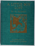 Books:Color-Plate Books, W. H. Hudson. A Little Boy Lost. Knopf, 1920. First Americanedition, first printing. Color plates by Dorothy Lath...