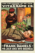 """Movie Posters:Comedy, Mr. Jack Goes into Business (General Film, 1916). One Sheet (27"""" X41"""").. ..."""