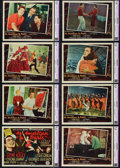 """Movie Posters:Musical, An American in Paris (MGM, 1951). CGC Graded Lobby Card Set of 8 (11"""" X 14"""").. ... (Total: 8 Items)"""