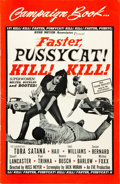 "Movie Posters:Sexploitation, Faster, Pussycat! Kill! Kill! Lot (Eve Productions, 1965). UncutPressbooks (2) (10.5"" X 17, 8 Pages).. ... (Total: 2 Items)"