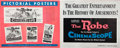 """Movie Posters:Drama, The Robe and Other Lot (20th Century Fox, 1953). Uncut Pressbookand Magazine (2) (Multiple Pages, 15"""" X 19"""" and 11"""" X 17"""")....(Total: 2 Items)"""