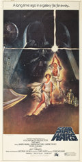 "Movie Posters:Science Fiction, Star Wars (20th Century Fox, 1977). Three Sheet (40.5"" X 77"").. ..."