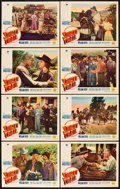 "Movie Posters:Western, Sunset Trail (Paramount, 1939). Lobby Card Set of 8 (11"" X 14"").. ... (Total: 8 Items)"