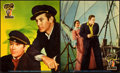 "Movie Posters:Adventure, Souls at Sea (Paramount, 1937). Jumbo Lobby Card Set of 8 (14"" X17"").. ... (Total: 8 Items)"