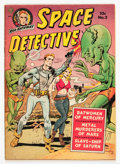 Golden Age (1938-1955):Science Fiction, Space Detective #2 (Avon, 1951) Condition: VG....