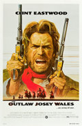 """Movie Posters:Western, The Outlaw Josey Wales (Warner Brothers, 1976). One Sheet (27"""" X 41"""").. ..."""