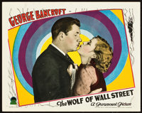 """The Wolf of Wall Street (Paramount, 1929). Lobby Card (11"""" X 14"""")"""