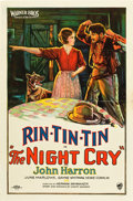 "Movie Posters:Drama, The Night Cry (Warner Brothers, 1926). One Sheet (27"" X 41"").. ..."