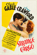 "Movie Posters:Drama, Strange Cargo (MGM, 1940). One Sheet (27"" X 41"") Style D.. ..."