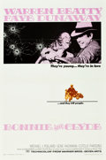 "Movie Posters:Crime, Bonnie and Clyde (Warner Brothers-Seven Arts, 1967). One Sheet (27"" X 41"").. ..."