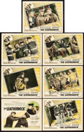 "Movie Posters:War, The Leatherneck (Pathé, 1929). Title Lobby Card and Lobby Cards (6)(11"" X 14"").. ... (Total: 7 Items)"