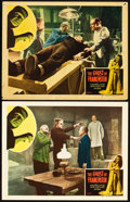 """Movie Posters:Horror, The Ghost of Frankenstein (Realart, R-1948). Lobby Cards (2) (11"""" X 14"""").. ... (Total: 2 Items)"""