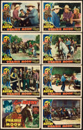 "Movie Posters:Western, Prairie Moon (Republic, 1938). Lobby Card Set of 8 (11"" X 14""). Western.. ... (Total: 8 Items)"