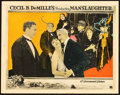 "Movie Posters:Drama, Manslaughter (Paramount, 1922). Lobby Card (11"" X 14""). Drama.. ..."