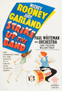 "Strike Up the Band (MGM, 1940). One Sheet (27"" X 41"") Style C"