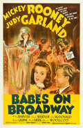"Movie Posters:Musical, Babes on Broadway (MGM, 1941). One Sheet (27"" X 41"") Style D.. ..."