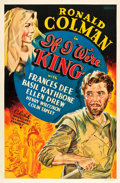 "Movie Posters:Adventure, If I Were King (Paramount, 1938). Other Company One Sheet (27"" X41"").. ..."