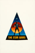 "Movie Posters:Science Fiction, Star Wars (20th Century Fox, 1975). Advance Sticker (2"" X 2.5"")....."