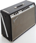 Musical Instruments:Amplifiers, PA, & Effects, Circa 1969 Fender Pro Reverb Silverface Guitar Amplifier, Serial # A11731....