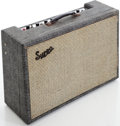 Musical Instruments:Amplifiers, PA, & Effects, 1962 Supro 1690 Gray Guitar Amplifier, Serial # T74704....