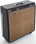 Musical Instruments:Amplifiers, PA, & Effects, 1967 Fender Super Reverb Blackface Guitar Amplifier, Serial #A25615....