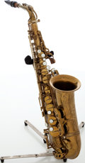 Musical Instruments:Horns & Wind Instruments, 1964 Selmer Mark VI Brass Alto Saxophone, Serial # 118809....