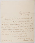 Autographs:Non-American, Theodore Hook (1788-1841, British Man of Letters). Autograph LetterSigned. Very good....