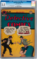 Golden Age (1938-1955):Superhero, Detective Comics #101 (DC, 1945) CGC GD+ 2.5 Cream to off-white pages....