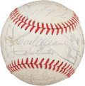 Autographs:Baseballs, 1977 Baltimore Orioles Team Signed Baseball....