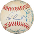 Autographs:Baseballs, 1980 Texas Rangers Team Signed Baseball. ...