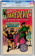Silver Age (1956-1969):Superhero, Daredevil #5 Pacific Coast pedigree (Marvel, 1964) CGC NM/MT 9.8Off-white to white pages....