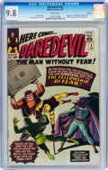 Silver Age (1956-1969):Superhero, Daredevil #6 Curator pedigree (Marvel, 1965) CGC NM/MT 9.8 Whitepages....