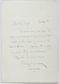 Autographs:Authors, Charles Hamilton Aide (1826-1906, British Writer). Autograph Letter Signed. Very good....