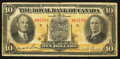 Canadian Currency: , Montreal, PQ - The Royal Bank of Canada $10 July 3, 1933 Ch. #630-16-04. ...