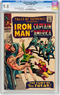 Tales of Suspense #75 Pacific Coast pedigree (Marvel, 1966) CGC NM/MT 9.8 White pages