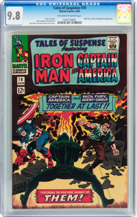 Tales of Suspense #78 (Marvel, 1966) CGC NM/MT 9.8 Off-white to white pages